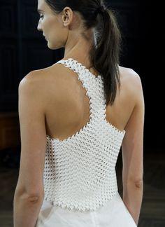 3ders.org - 3D printed textiles hit the runway at New York Fashion Week | 3D Printer News & 3D Printing News
