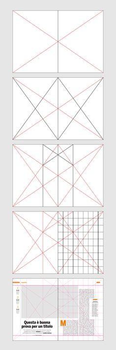 """Progettazione gabbia delle pagine del mensile """"il Salvagente"""""""