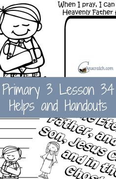 Thankful for websites like these. Excellent resources for your LDS Primary 3 lessons!