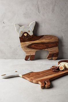 Best In Show Cheese Board #anthropologie too cute to use. I really adore the Frenchie version