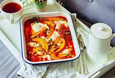 Jarní šakšuka - Recepty.cz - On-line kuchařka Portobello, Mozzarella, Chicken Wings, Feta, Buffalo Wings
