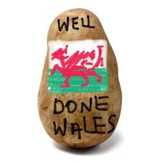 Congrats to Wales.  Share what you thought of the game by send a potato massage.  www.potatomessenger.co.nz