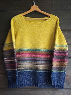 Not necessarily machine knitted, but aren't the colors spectacular??!!
