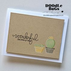 Doodlebugs: Lawn Fawn - Stuck on You Stamp Set