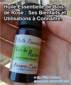 Antivirale, anti-infectieuse, antiseptique… L'huile essentielle de bois de rose est une arme redoutable contre les microbes et bactéries. Regardez :-)  Découvrez l'astuce ici : http://www.comment-economiser.fr/huile-essentielle-bois-rose-bienfaits-utilisations.html?utm_content=buffer35468&utm_medium=social&utm_source=pinterest.com&utm_campaign=buffer