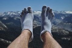 Or get toe-sock liners to prevent blisters. | 15 F*cking Brilliant Hiking Hacks You Need To Try ASAP
