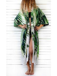 cd46478e60a 0411.0100 PALMA beach robe This beach robe has two side openings and comes  with a waist