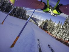 Lindsey Vonn gives us a first person look at the POV of an Olympian. Healthy Meals For Two, Healthy Summer, Summer Salads, Gopro Video, Lindsey Vonn, Ski Racing, Hello Winter, Healthy Cat Treats, Sport Photography