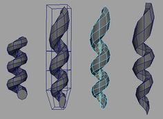 3D Hair - Ringlets