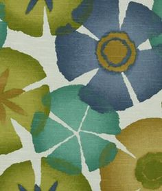 Shop Robert Allen @ Home Pure Petals Ultramarine Fabric at onlinefabricstore.net for $19.65/ Yard. Best Price & Service.