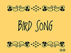 Buzzword Bingo: Bird Song | by planeta Buzzword Bingo, Songs, Bird, Birds