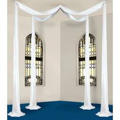 This Elite Collection White Celebration Canopy comes 1 per package. Each canopy cover approximately 32 square feet. Made of polyester fabric. Wedding Canopy, Wedding Fabric, Teenage Girl Bedrooms, Girls Bedroom, Metal Wedding Arch, Ceiling Draping, Ceiling Hooks, Ceiling Grid, Metal Ceiling