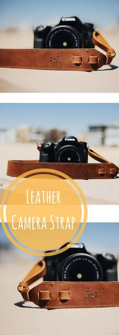 True Brown Leather Camera Strap for DSLR or SLR camera, DSLR Camera Strap. Camera accessories. Canon camera strap. Nikon. #affiliatelink