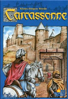 Carcassonne - very fun and addictive game
