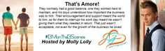 When the moon hits your eye...That's Amore! This month's scene is live on Molly Lolly's blog and well...if you've been waiting for a certain triad's book, this might hold you over (18+ NSFW)  #13months13Scenes