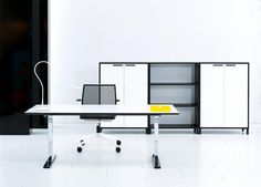 My Urban Storage. Flexible office storage giving an informal working environment and a modern interior design.