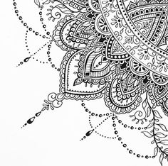 The Tattoo Designs Guide – Custom Tattoo Designs – How To Choose The Best Tattoo Design For You Mandala Doodle, Henna Mandala, Mandala Drawing, Mandala Painting, Zen Doodle, Dot Painting, Mandala Tattoo, Doodle Art, Doodle Patterns