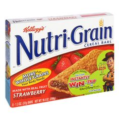 I'm learning all about Kellogg's Nutri-Grain Strawberry Cereal Bars at Strawberry Cereal, Cocoa Krispies, Cereal Bars, Snack Recipes, Snacks, Types Of Food, Have Time, Pop Tarts, Blueberry