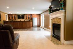 Basement living room!