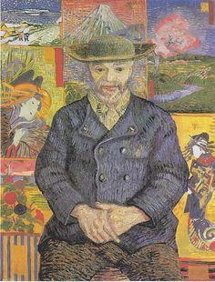 "Vincent van Gogh, Portret ""Ojca"" Tanguy II, jesień 1887"