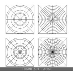 You are in the right place about mandala artwork Here we offer you the most beautiful pictures about the man Mandalas Painting, Mandala Artwork, Mandalas Drawing, Mandala Pattern, Zentangle Patterns, Pattern Art, Zentangles, Bridget Riley Op Art, Tutorial Paint