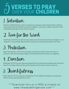5 Life-Changing Scriptures To Pray Over Your Children