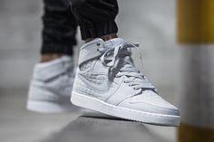 """Releasing: Air Jordan 1 Retro KO High OG """"Pure Platinum"""" - EU Kicks: Sneaker Magazine"""
