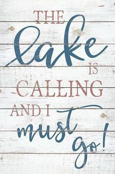 Wooden Sign The Lake Is Calling And I Must Go 16 x 24 inches The Lake Is Calling Wooden Sign Country Marketplace The post Wooden Sign The Lake Is Calling And I Must Go 16 x 24 inches appeared first on Architecture Diy. Lake House Signs, Cabin Signs, Cottage Signs, Lake Signs, Porch Signs, Lake Life Quotes, Beach Quotes, Fishing Signs, Lake Decor