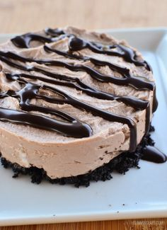 Low Syn Chocolate Cheesecake - Slimming World recipe - HealtyFoods Chocolate Syns, Low Syn Chocolate, Coconut Hot Chocolate, Chocolate Pastry, Chocolate Cheesecake, Homemade Chocolate, Chocolate Flavors, Cheesecake Desserts, Slimming World Cheesecake