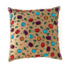 Shiraleah Caravan Jewel Decorative Pillow | Bloomingdale's