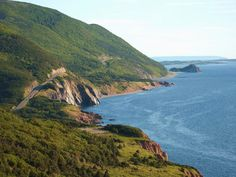 The Cabot Trail, Cape Breton.