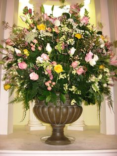 1000 Images About Church Flower Arrangements On Pinterest