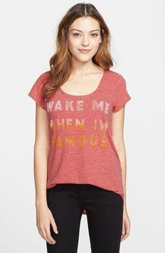 Lucky Brand 'Wake Me' Graphic Tee available at #Nordstrom