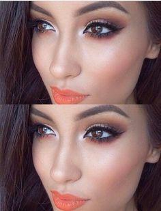 Elige #labios naranjas #Lips #Makeup
