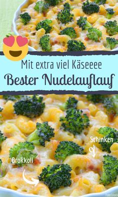 Bester Nudelauflauf mit Brokkoli &Schinken It couldn't be tastier! Try our pasta bake with broccoli Whole 30 Chicken Recipes, Easy Whole 30 Recipes, Ground Chicken Recipes, Oven Chicken Recipes, Shredded Chicken Recipes, Easy Dinner Recipes, Whole30 Recipes Lunch, Recetas Whole30, Vegetarian Crockpot Recipes