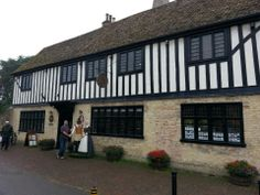 Oliver Cromwell's House in Ely, Cambridgeshire If you love your history, you'll really enjoy this place.