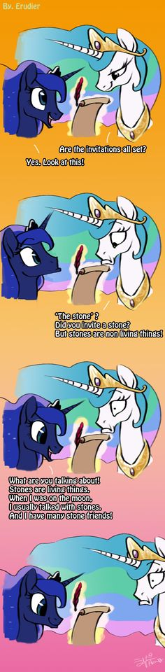 Stones are living things! by Erudier.deviantart.com on @deviantART