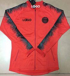 f285ec07a11b Adult PSG Soccer Jacket With Zipper Football Jacket. Nike Paris Saint- Germain Women s Away Jersey 18 19 in 2018 ...