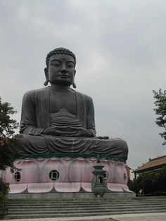 The Great Buddha in Changhua City, Taiwan.