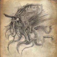 Sea Monster by drakhenliche.deviantart.com on @deviantART