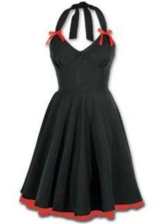 Olivia Cotton Poplin Party Dress by Lucky 13-$129.95