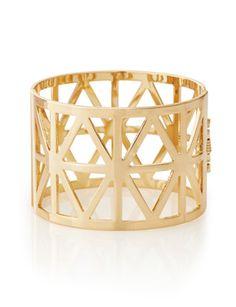 Cutout Hinge Bracelet