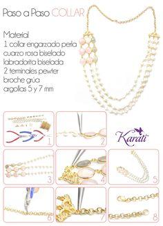 #perlas #piedrafina #piedrasparajoyería #DIY #manualidades #novias #boda #handmade #accesorios
