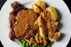 Pfeffersauce 3 Herb Butter, Pot Roast, Pesto, Carne, Dips, Food And Drink, Pork, Pizza, Herbs