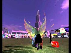 Secondlife 2012 Music-Session and Exodus Viewer Deferred Rendering shadow Test