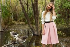 Zini boutique - Dusty pink skirt