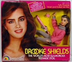 Brooke Shields Barbie- Had her in the 80's, still have her