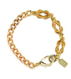 Vintage Brass Knot Bracelet by Michelle Starbuck Designs on Scoutmob Shoppe $36