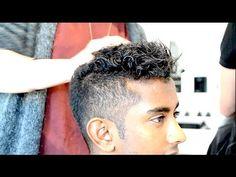 Men's Hair Tutorial   Robin Thicke Blurred Lines T.I. Pharrel   By Vilain Gold Digger - YouTube