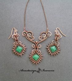beautiful and artistic wire wrapping! My favorite!